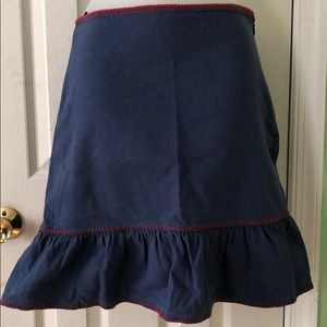 Moschino blue and red skirt size 38 or 4